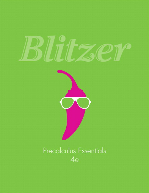 Blitzer precalculus essentials 4th edition pearson precalculus essentials 4th edition fandeluxe Choice Image