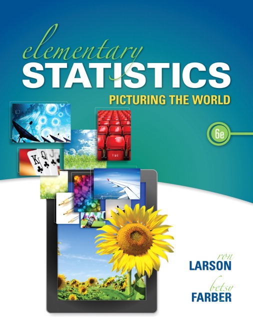 Larson farber elementary statistics picturing the world pearson elementary statistics picturing the world subscription 6th edition fandeluxe Image collections