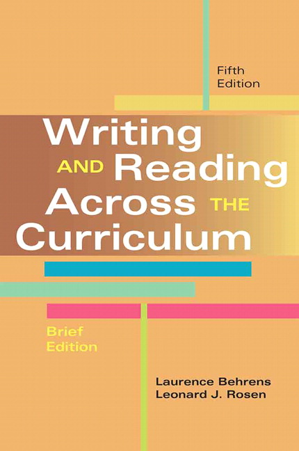 Writing and reading across the curriculum 12th edition pdf download