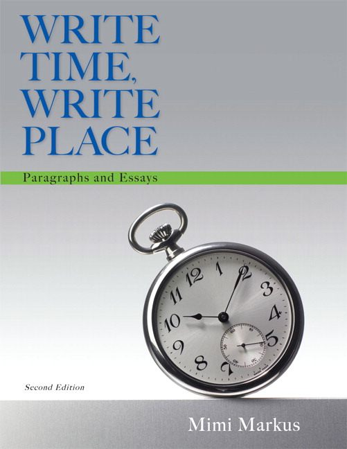 write time write place paragraphs and essays Up to 90% off textbooks at amazon canada plus, free two-day shipping for six months when you sign up for amazon prime for students.