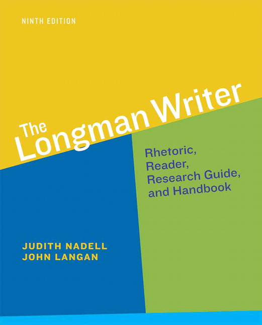Nadell langan coxwell teague longman writer the pearson longman writer the fandeluxe Choice Image