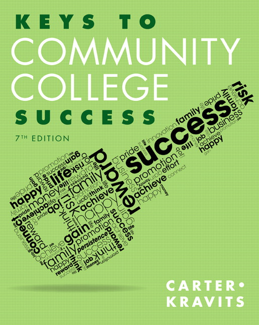 Carter kravits keys to community college success pearson keys to community college success 7th edition fandeluxe Choice Image