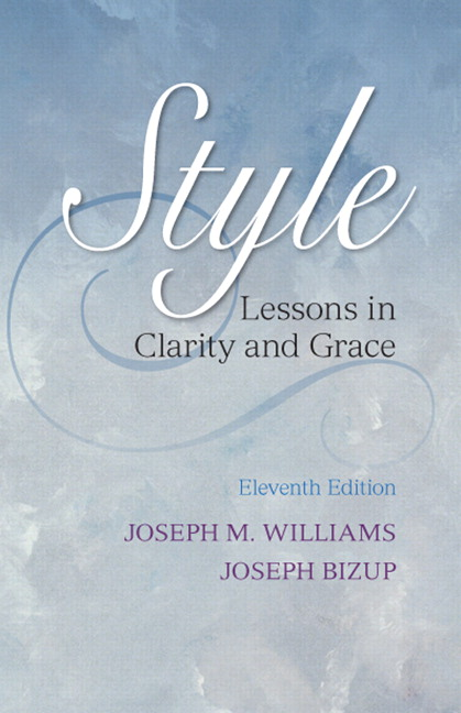 style lessons in clarity and grace 11th edition pdf download