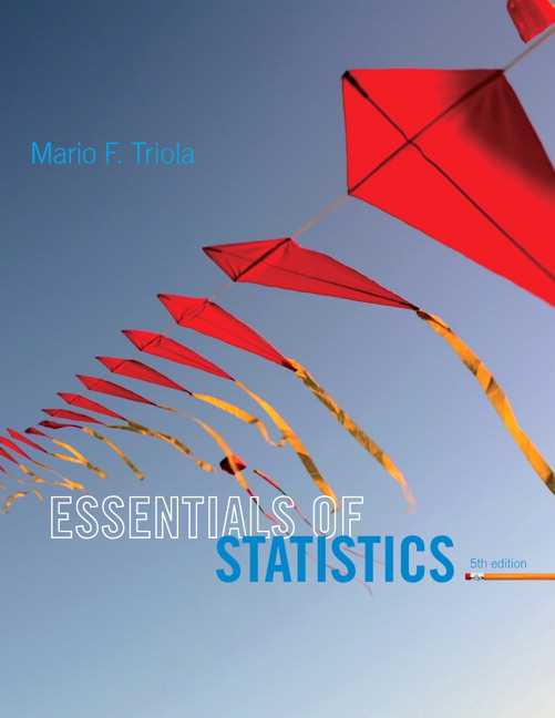 Triola essentials of statistics pearson essentials of statistics subscription 5th edition triola fandeluxe Choice Image