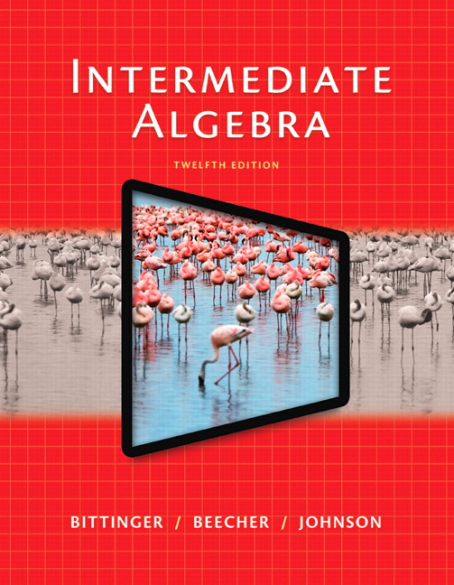 Bittinger intermediate algebra pearson view larger fandeluxe Choice Image