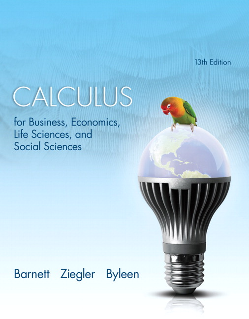 Calculus for Business, Economics, Life Sciences and Social Sciences Plus NEW MyLab Math with Pearson etext -- Access Card Package