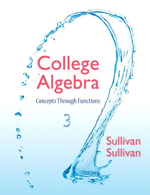 College Algebra: Concepts Through Functions Plus NEW MyLab Math with eText -- Access Card Package