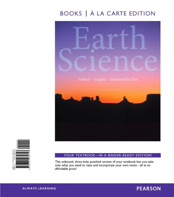 Tarbuck, Lutgens & Tasa, Earth Science | Pearson