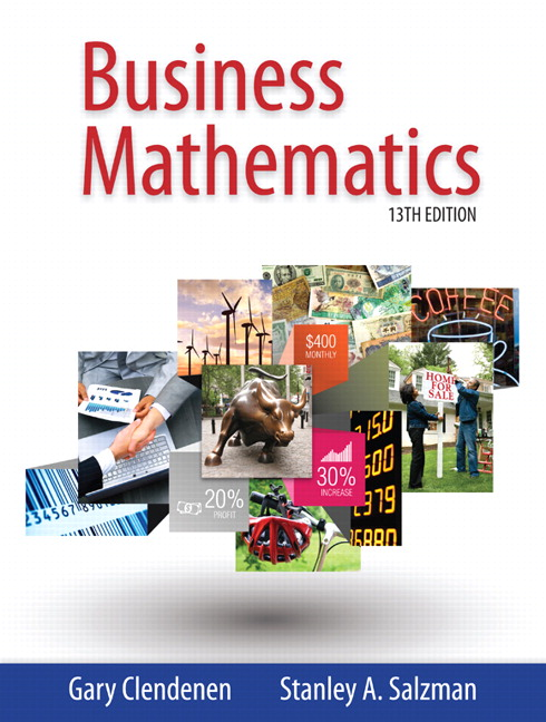 Business Mathematics plus MyLab Math with Pearson eText -- Access Card Package