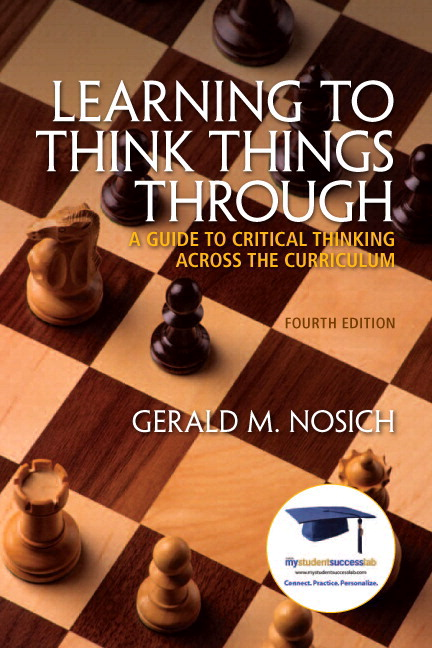 nosich impediments to critical thinking
