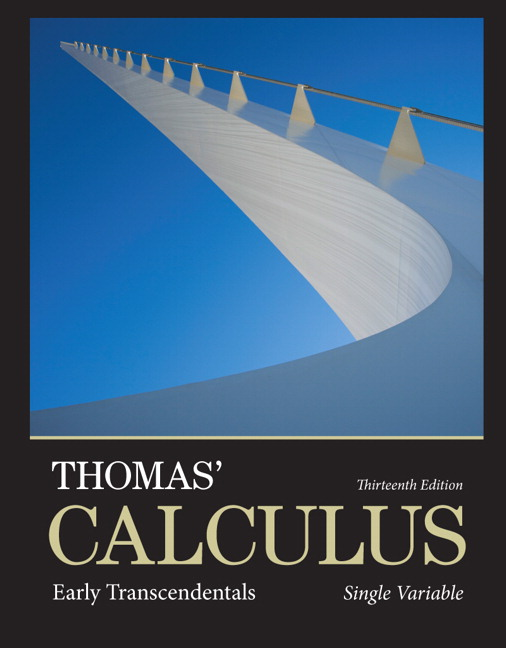 Thomas' Calculus: Early Transcendentals, Single Variable plus MyLab Math with Pearson eText -- Access Card Package