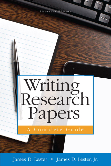 writing research papers lester online Buy writing research papers: a complete guide pdf ebook, global edition by james lester,  from pearson education's online bookshop writing research papers: .