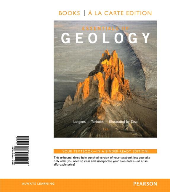 Essentials of Geology Fourth Edition