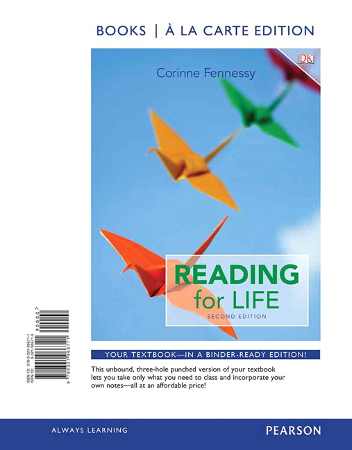 Fennessy kindersley reading for life 2nd edition pearson reading for life books a la carte edition 2nd edition fandeluxe Image collections