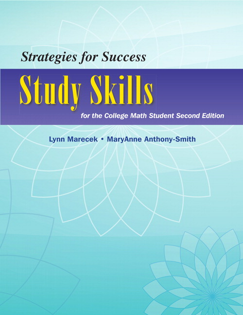 Lial hestwood prealgebra 5th edition pearson strategies for success study skills for the college math student 2nd edition fandeluxe Gallery
