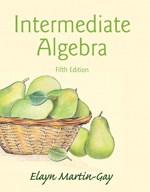 Intermediate Algebra (Subscription)
