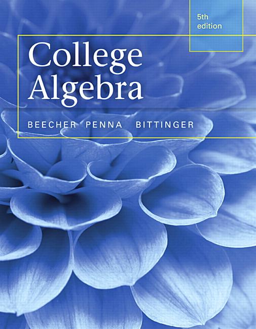 College Algebra, 5th Edition