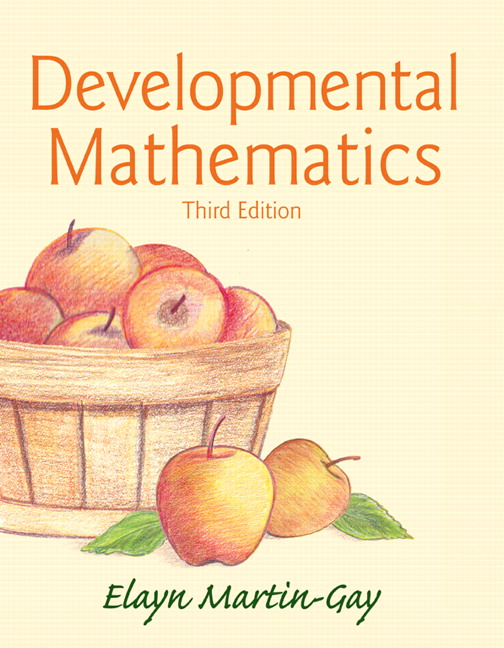 Developmental Mathematics, 3rd Edition