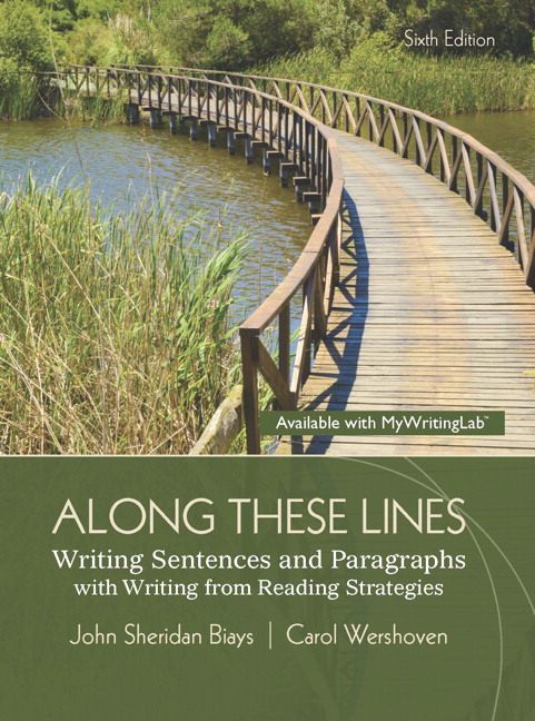 Along these lines writing paragraphs and essays 6th edition answers