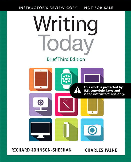 writing today brief third edition