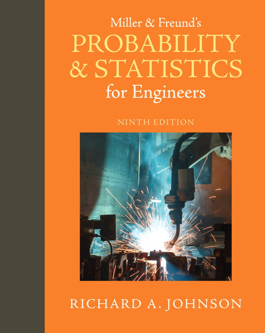 Miller & Freund's Probability and Statistics for Engineers, 9th Edition