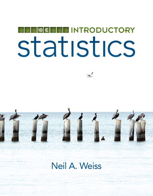 Weiss introductory statistics pearson introductory statistics fandeluxe Images