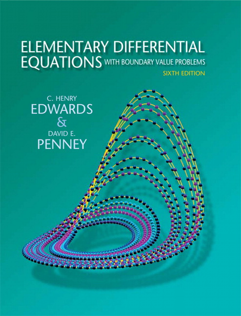 Differential equations and boundary value problems edwards and penney