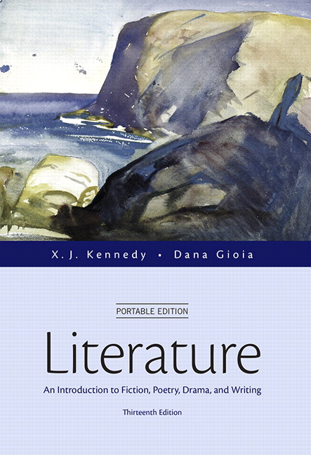 literature an introduction to reading and writing 10th edition The most popular introductory anthology of its kind, kennedy/gioia's literature continues to inspire students with engaging insights on reading and writing about stories, poems, and plays poets in their own right, editors xj kennedy and dana gioia bring personal warmth and a human perspective to.