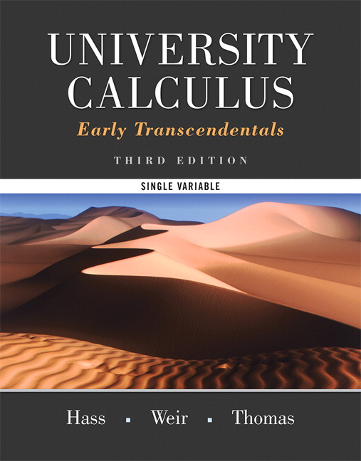 University Calculus, Early Transcendentals, Single Variable Plus MyLab Math -- Access Card Package, 3rd Edition