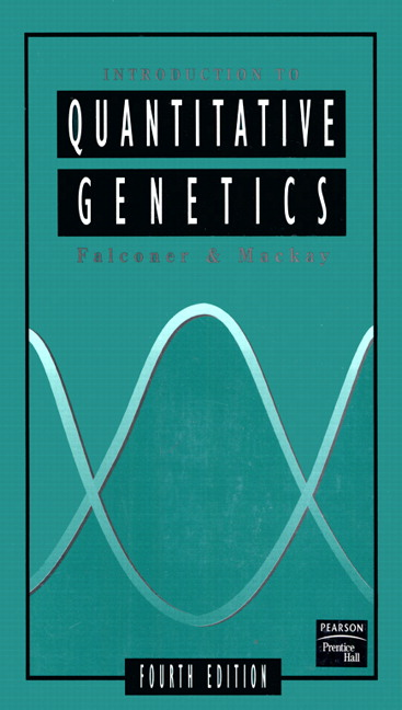 Introduction to Quantitative Genetics, 4th Edition