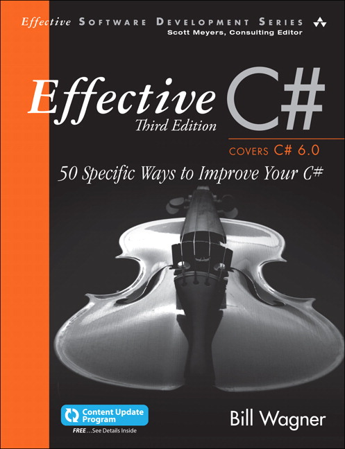 Effective C# (Covers C# 6.0), (includes Content Update Program): 50 Specific Ways to Improve Your C#, 3rd Edition