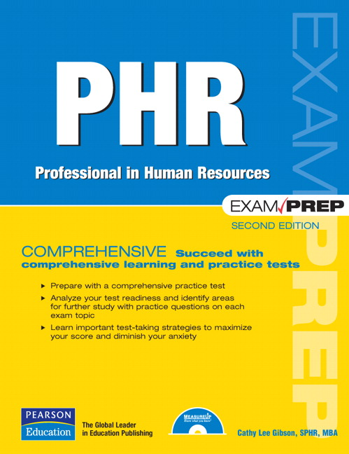 Winterfield Phr Exam Prep Professional In Human Resources 3rd