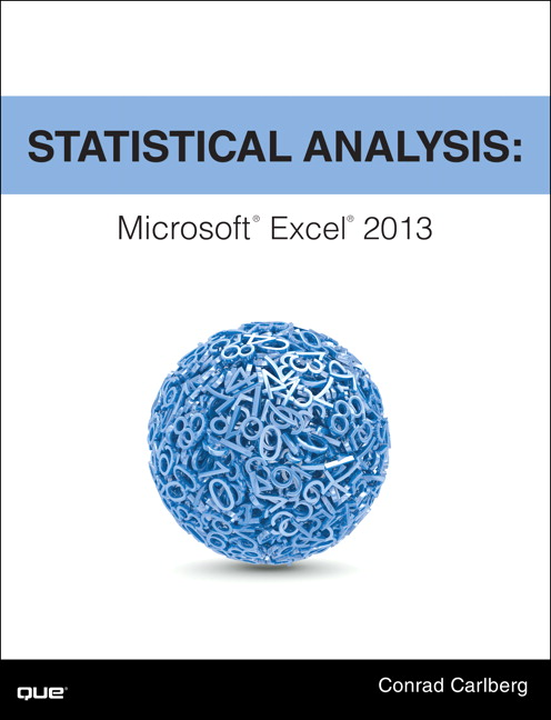 Carlberg, Statistical Analysis: Microsoft Excel 2016 | Pearson