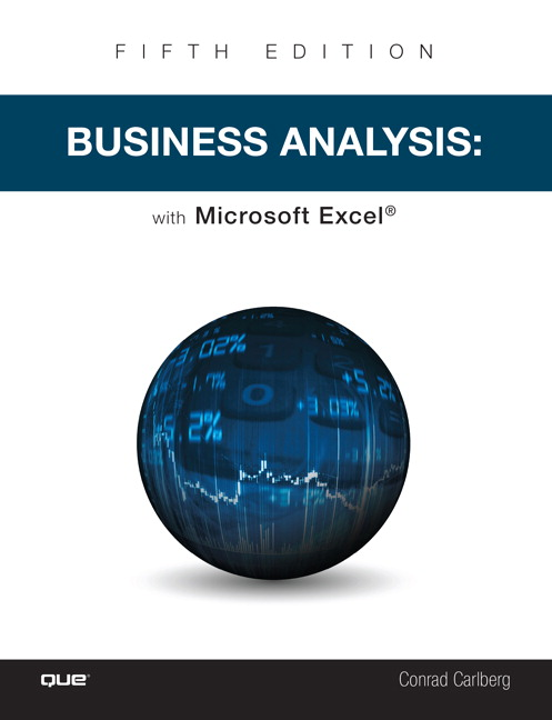 Business Analysis with Microsoft Excel, 5th Edition
