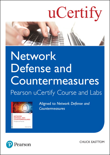 Network Defense and Countermeasures Pearson uCertify Course and Labs Student Access Card