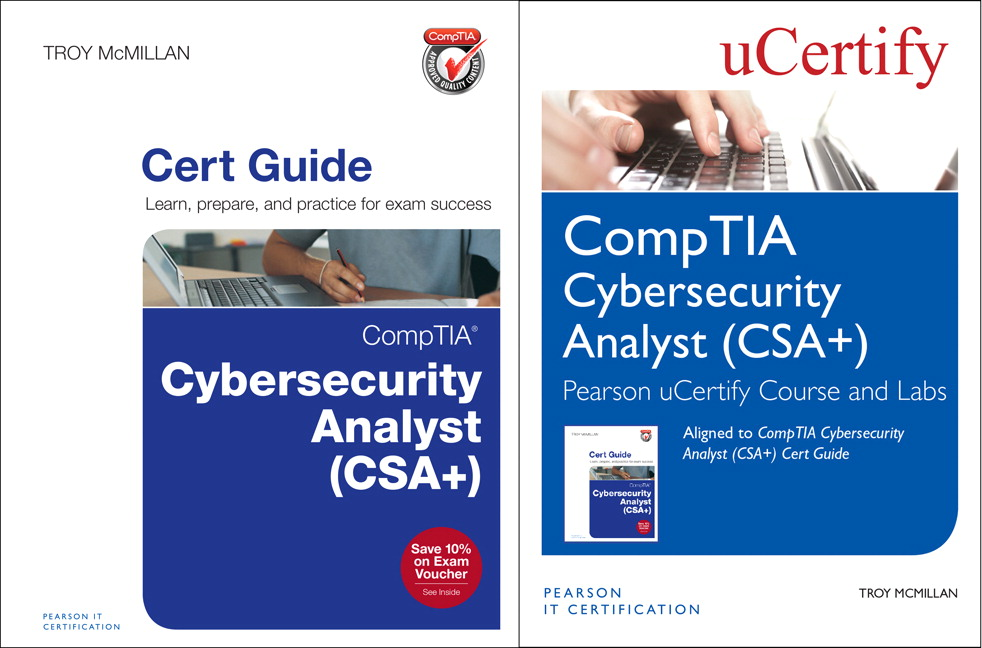 Comptia Cybersecurity Analyst Csa Pearson Ucertify Course And
