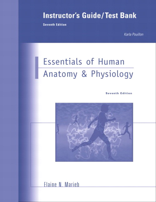 Marieb, Instructor's Guide to Essentials of Human Anatomy ...