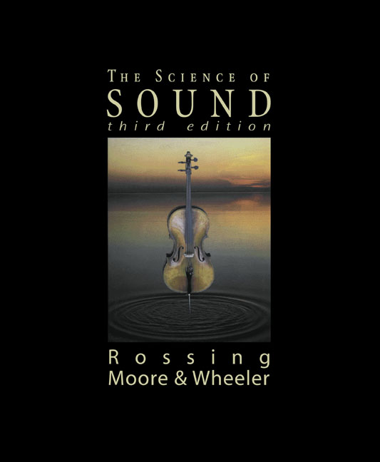 Science of Sound, The, 3rd Edition