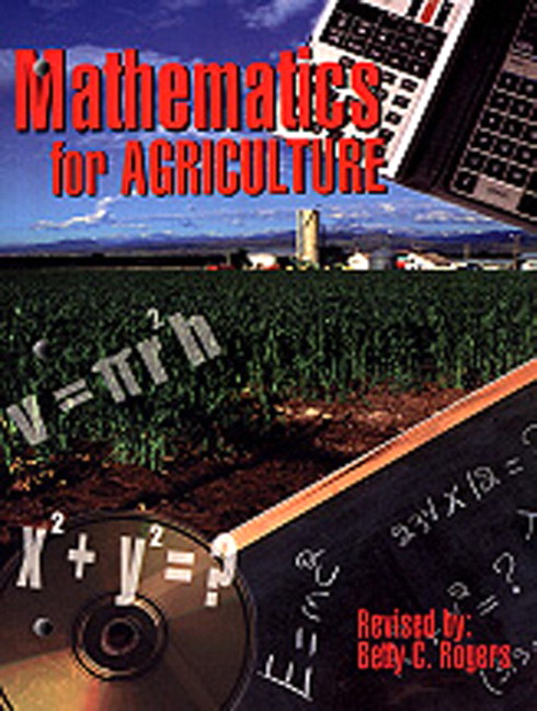 Mathematics for Agriculture, 2nd Edition