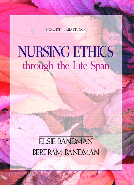 essays on nursing ethics Nurses' professional relationships with patients recognizing values within the nursing profession – integrating these belief systems & expressing them appropriately.