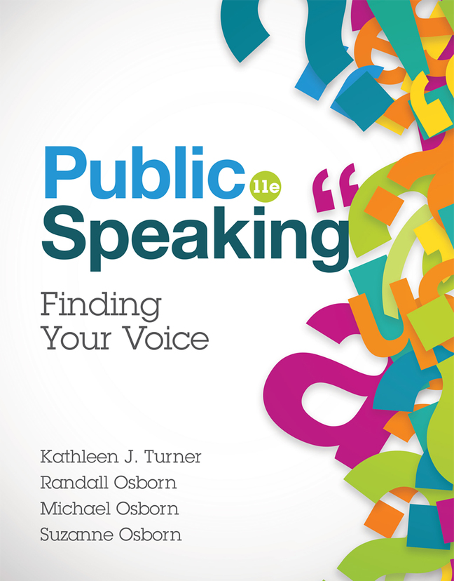 Public Speaking: Finding Your Voice, 11th Edition