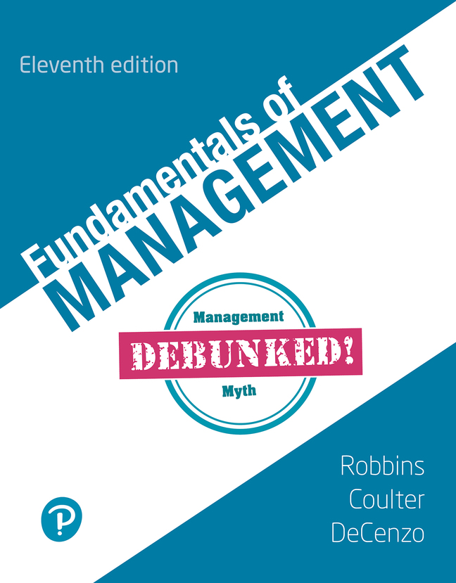 Fundamentals of Management, 11th Edition