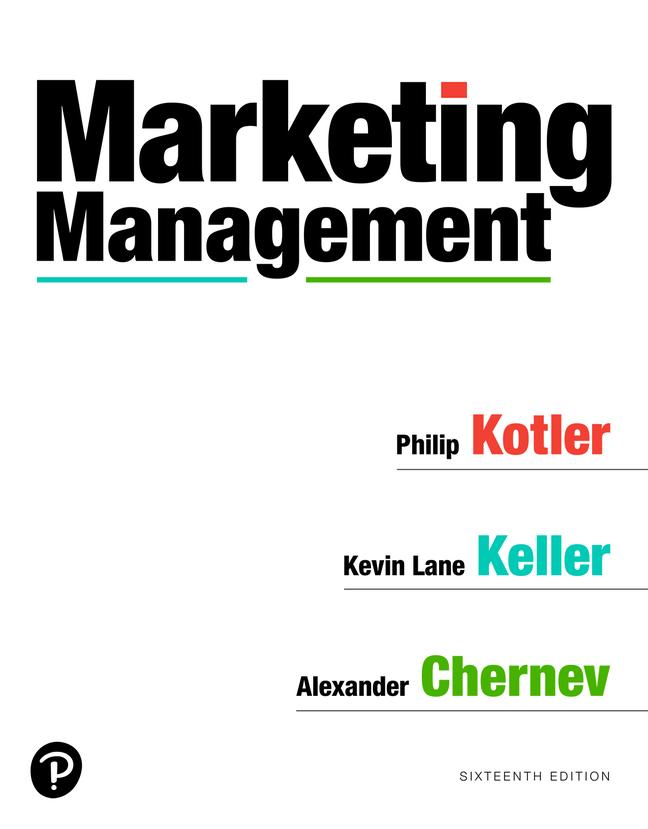 Marketing Management, 16th Edition