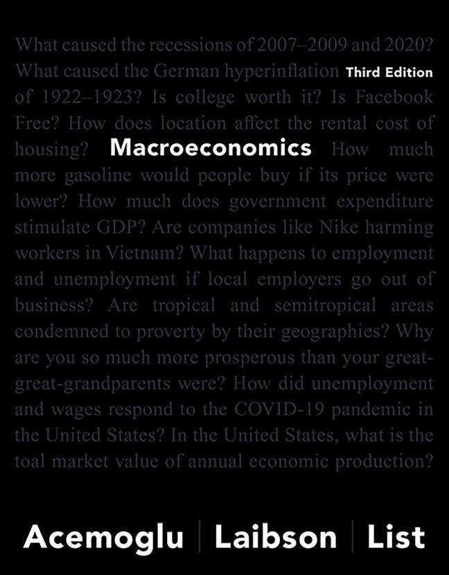 Macroeconomics, 3rd Edition