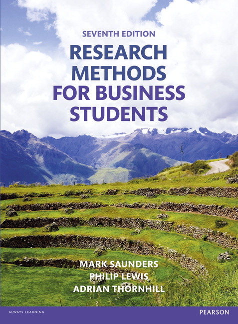 Research Methods for Business Students, 7th Edition