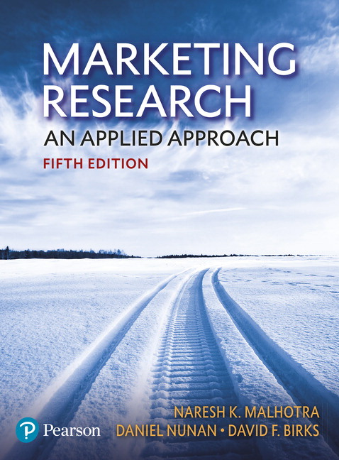 Marketing Research: An applied approach, 5th Edition