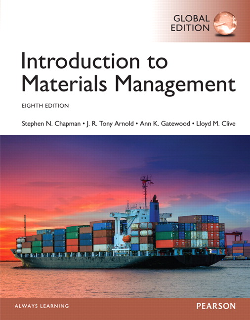 Introduction to Materials Management, Global Edition, 8th Edition