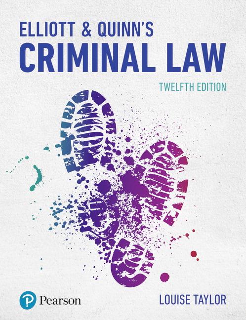 Elliott & Quinn's Criminal Law, 12th Edition