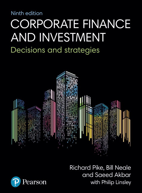 Corporate Finance and Investment: Decisions and Strategies, 9th Edition