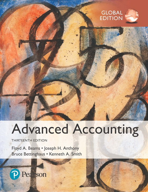 Beams Anthony Bettinghaus Smith Beams Advanced Accounting Global Edition 12th Edition Pearson